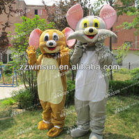 Custom made wholesale mascot costumes