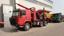 SINOTRUK HOWO Log Truck Used For Bad Work Condition
