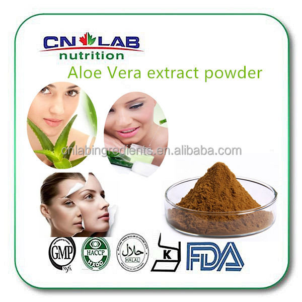 Aloe Vera Powder Bulk Acne Extract 200:1 Powder