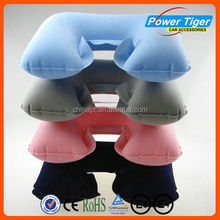 fashion inflatabe neck pillow plush neck pillow for traveling