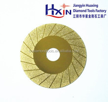 Electroplated diamond grinding disc/ electroplated cutting disc for cutting glass/alloy