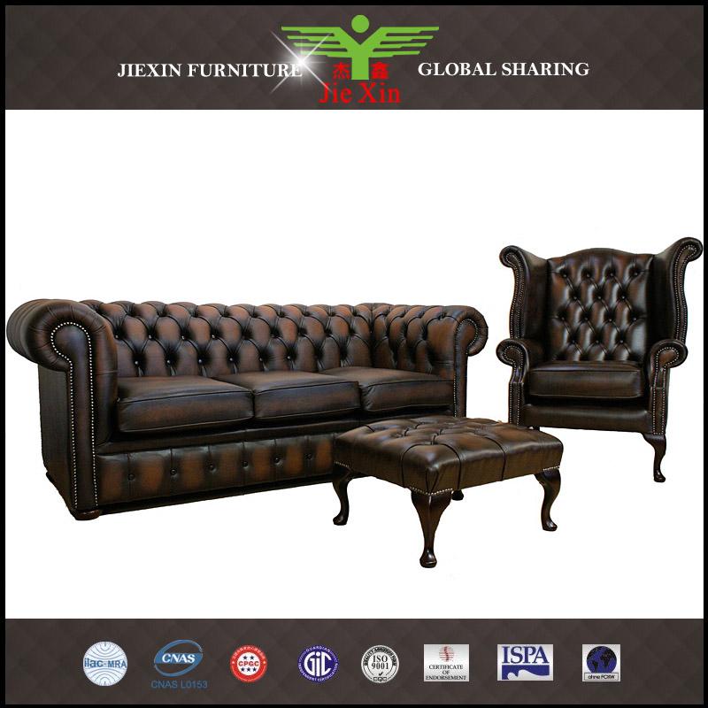 Wohnzimmer Möbel Modernes Sofa Chesterfield Leder