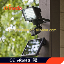 High Efficiency Solar Powered Wall Light 100pcs leds Solar Motion Lamp for Garden Outdoor