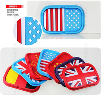 Silicone Car Sticky Pad/Anti-slip Mat/Mobile phone non-slip mat