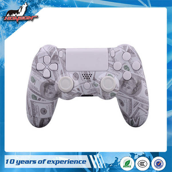 Perfit Fit 100 USD Dollar Design For PS4 Controller Hydro Dipped Shell Case