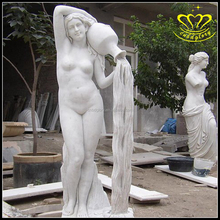 Vie Taille Marbre <span class=keywords><strong>Jardin</strong></span> figure Statues Pour Vente