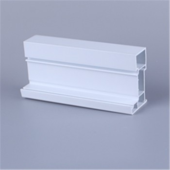 White color sliding pvc profiles for window frame