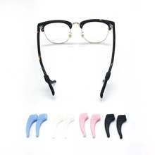 New product glasses hooks grip, non toxic temple tip, eco friendly silicone glasses holder