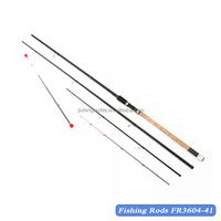 Carbon Match Fishing Rod Feeder Fishing Rod with 3 Quiver Tips