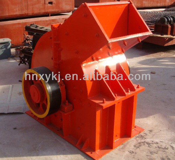 Middle hardness mineral stone hammer crusher