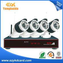 China IP Camera Manufacturer 4CH NVR KIT HD Wireless Webcam