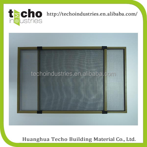 prefabricated house sliding window and horizontal sliding window screen for sale