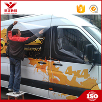 Custom car bus vans trucks vehicle fleet vinyl banner wrap signs signage sticker decal vans sign