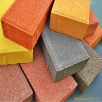 China producer of colorful landscaping clay paving brick