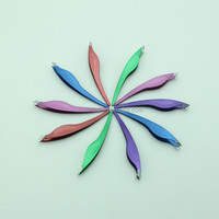 2015 Colorful Unique Design Stainless Steel Slanted Tip Tweezers