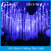 360 degree viewing stage decorative led meteor light for wedding