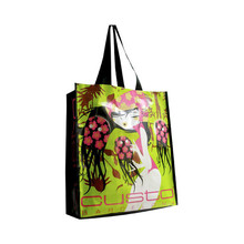 Customized eco disposable plastic shopping bag