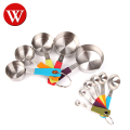 Amazon hot sell Good Grip Stainless Steel Measuring cup and spoon set