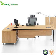 High quality modern cherry wood executive desk