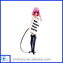 Sexy anime girl series 3D resin anime sexy nude beautiful young girl figurines