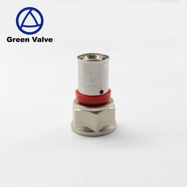 Green-Gutentop China supplier brass fitting with female thread telescopic pipe joints bushing Connectors