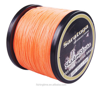Wholesale high strength 8 strands pe braided fishing line for Cheap braided fishing line