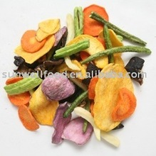 Vacuum Fried mix Vegetable Chips snacks veggie chips(healthy snack)