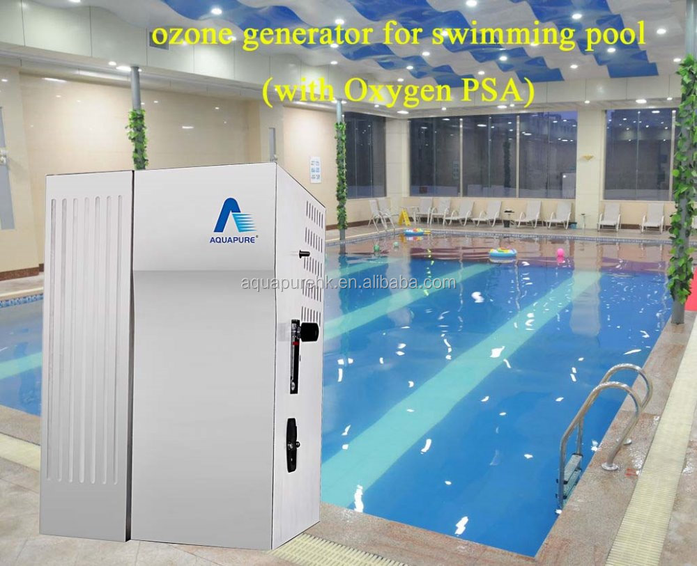Hot! 10g/h ozone generator for swimming pool with 60mg/L Concentration