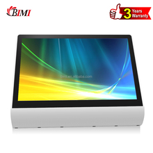 Best retail windows electronic POS system equipment with 12 inch capacitive dual touch screen