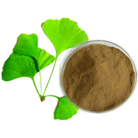 ISO supplier high quality ginkgo biloba leaf extract powder