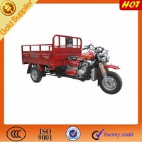 three wheel motorcycle for cargo/200cc engine tricycle
