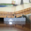 Patent Locking_ system Carbonized Vertical Matt Bamboo Flooring