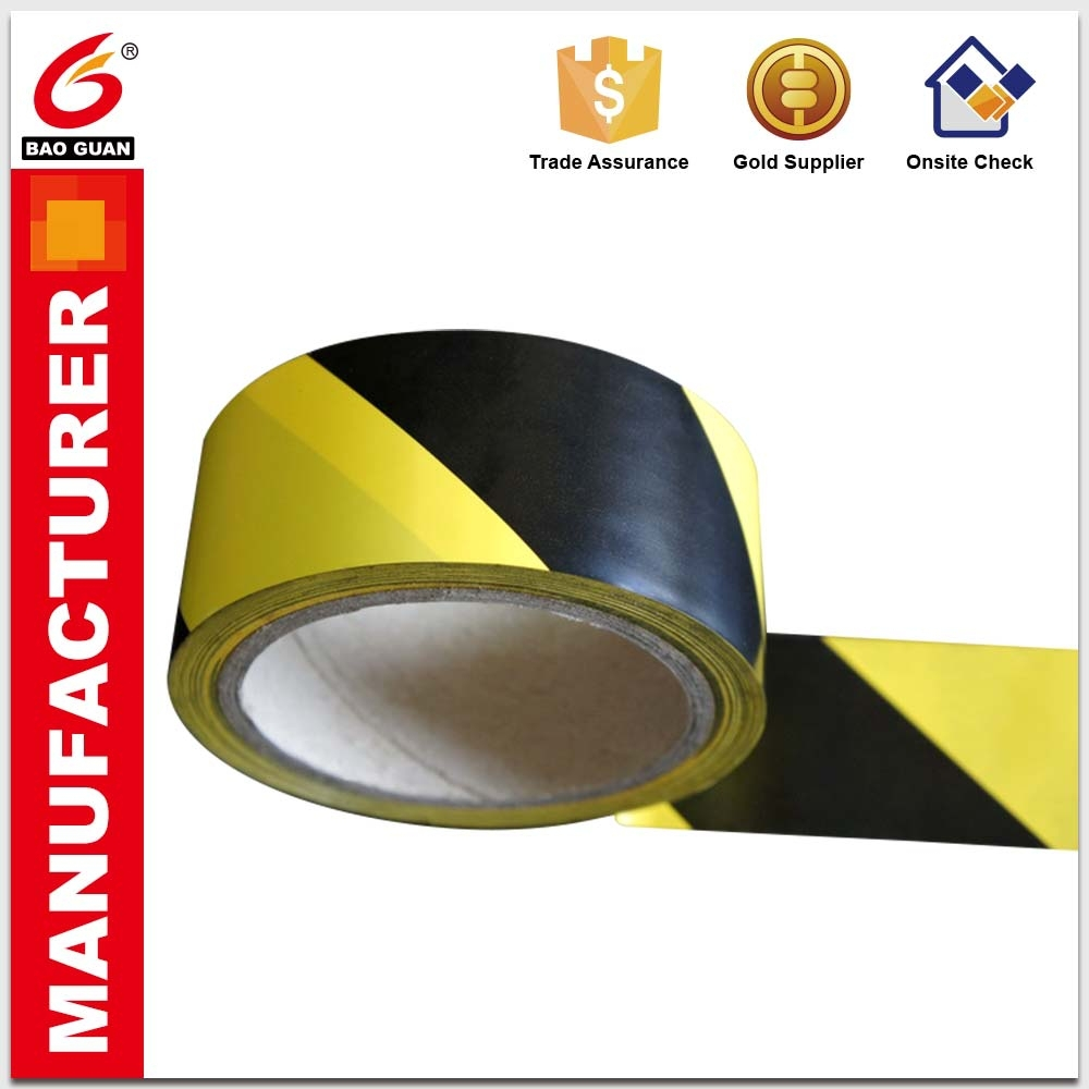 Underground detectable warning tape marking barricade tape