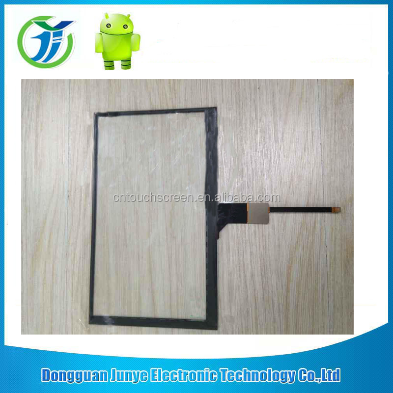 small size 7 inch projected capacitive touch screen panel, PCAP, PCT, with SPI interface, driver IC or not