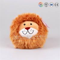 ODM product Q version plush animal series soft stuffed lion