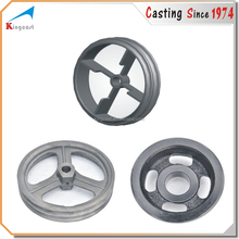 OEM custom sand casting flywheel cast iron