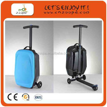 2012 New design travel scooter suitcase for christmas gift