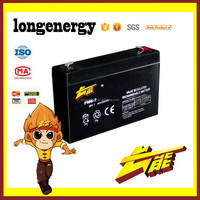 6v 7ah valve regulated sealed battery rechargeable lead acid ups storage battery