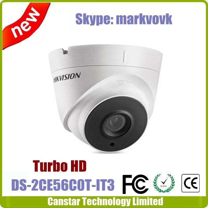 720P Hikvision Turbo HD camera DS-2CE56C0T-IT3