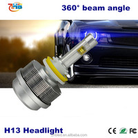 2 years warranty Car LED headlight H4 H7 H11 9005 9006 H13 9007 best lighting effect