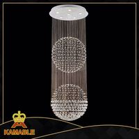 rain shape high quality iron wall lamp with crystal for hotel decoration