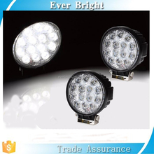 4X4 off road 42w led work light for truck trailer boat motorcycle 12v 24v fog lights 4.5inch led driving light