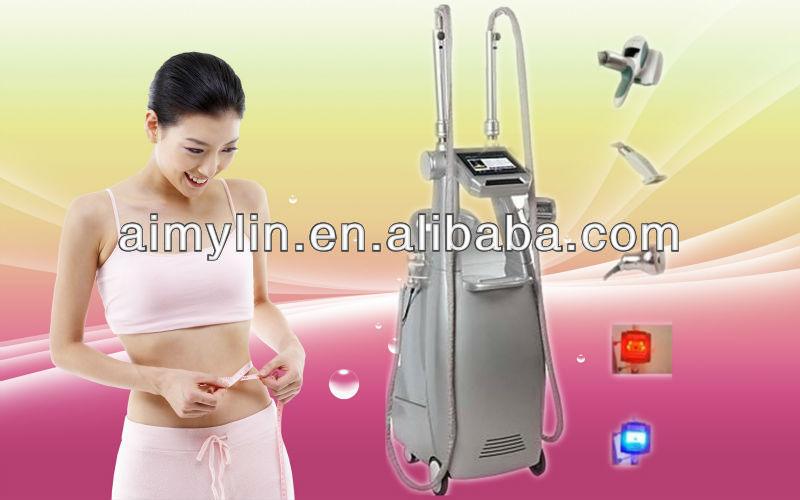 High Efficiency vacuum suction+motorized intelligent roller+liposuction cavitation for weight loss