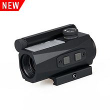 Compact tactical airsoft hunting rifle gun optic 1x20 red dot scope red dot sight for air guns and weapons CL2-0104