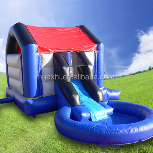 Inflatable Bouncer Inflatable Water Slide with pool for kids