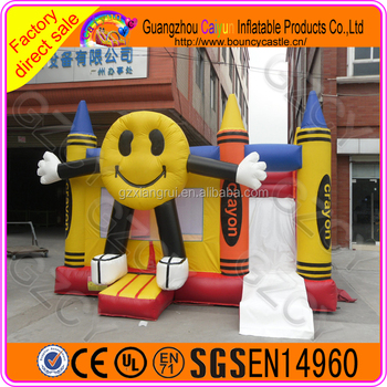 China fun carton bouncy castle for adult and child