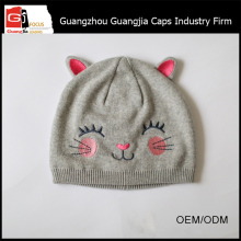 Guangjia High Quality Manufacturer Cute Pattern Baby Knitted Cap