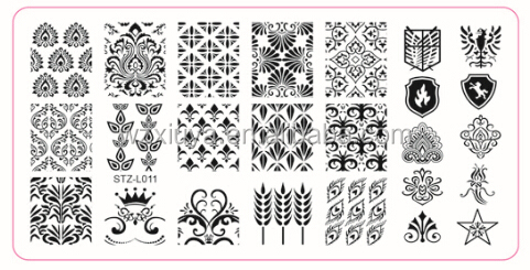 PLATE stamping nail art kit, nail art printer, stamper