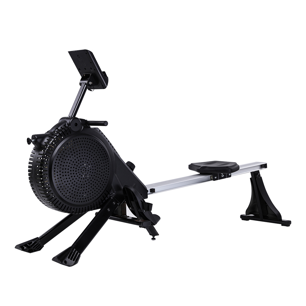 Top Grade Bodybuilding Equipment Air Fan Magnetic Rower Rowing Machine