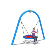 kids Outdoor Nest Swing, Round rope Children Swing,Tree Garden Swing